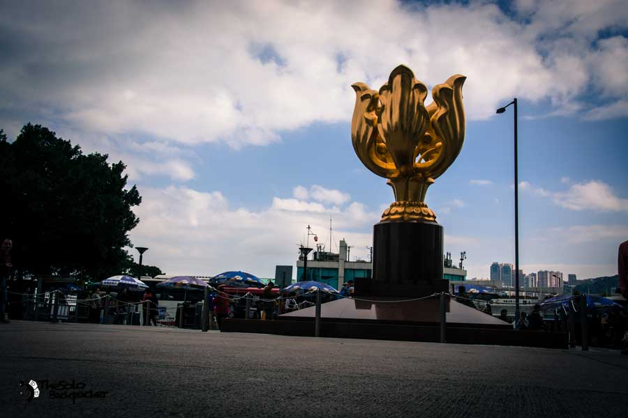 hongkong-island-golden-bauhinia-square-thesolobackpacker