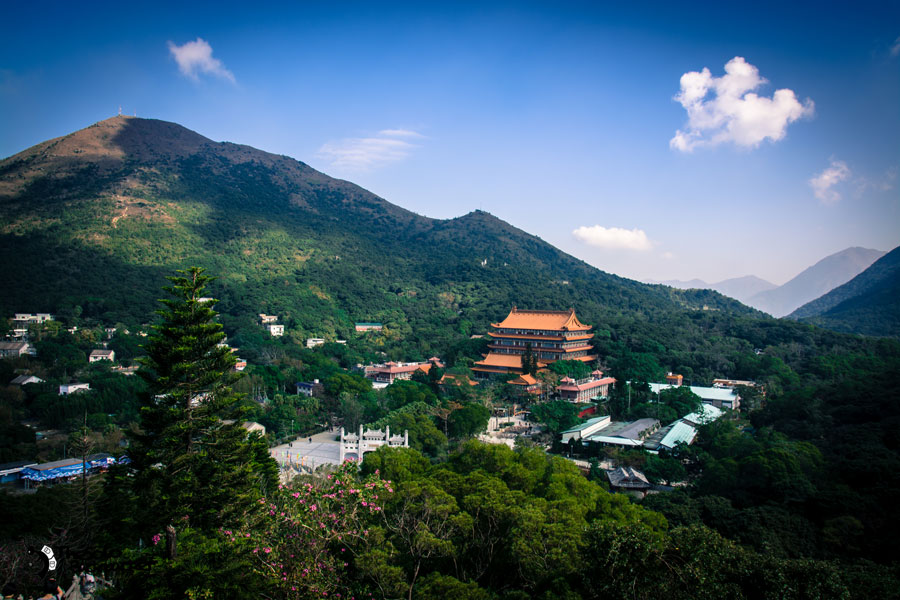 po-lin-monastery-view-from-big-buddha-thesolobackpaker-world