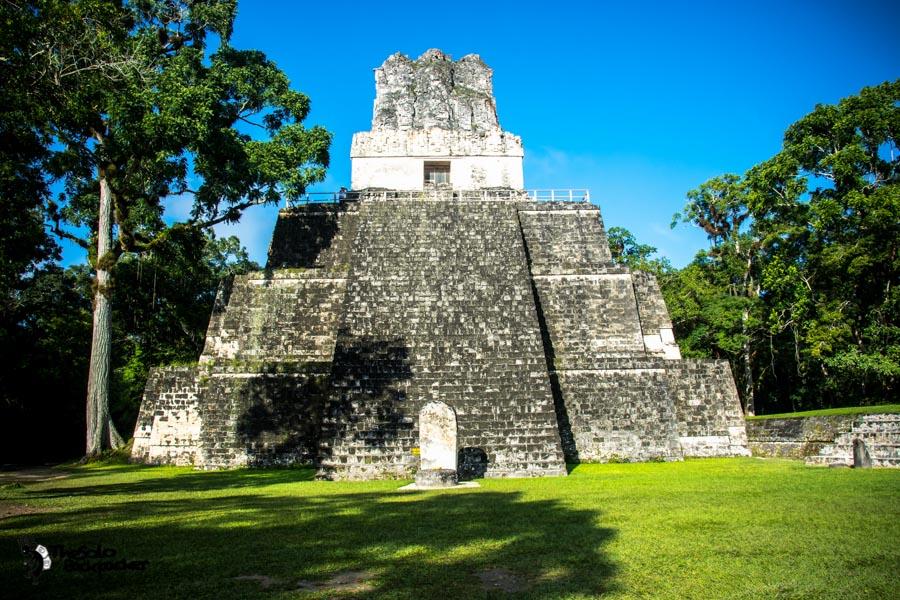 Tikal ruin Guatemala backpacking itinerary