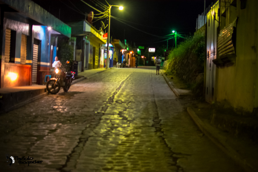 Lanquin street Guatemala backpacking itinerary