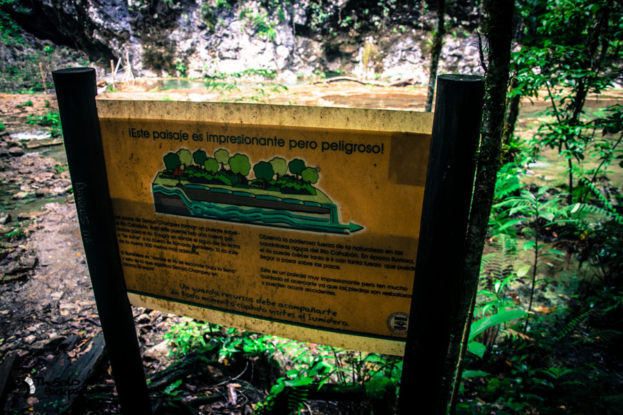Semuc Champey river system Guatemala backpacking itinerary