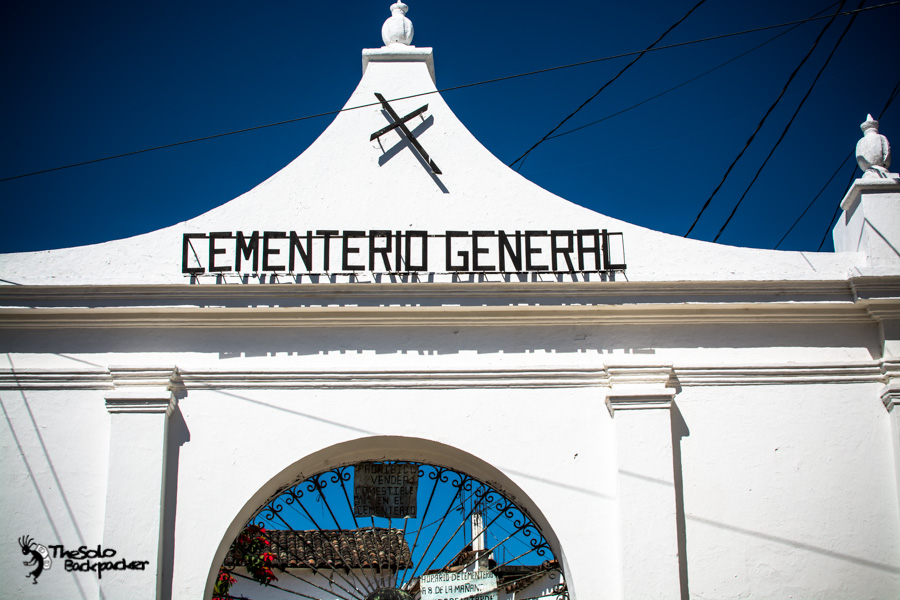 Snaps from the Cemetery in Chichicastenango Guatemala backpacking itinerary