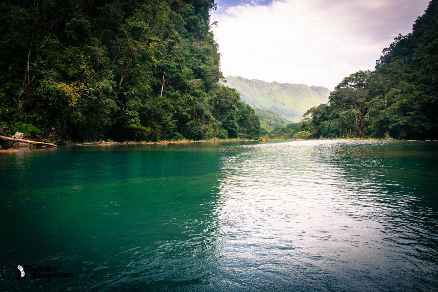 Semuc Champey pools Guatemala backpacking itinerary