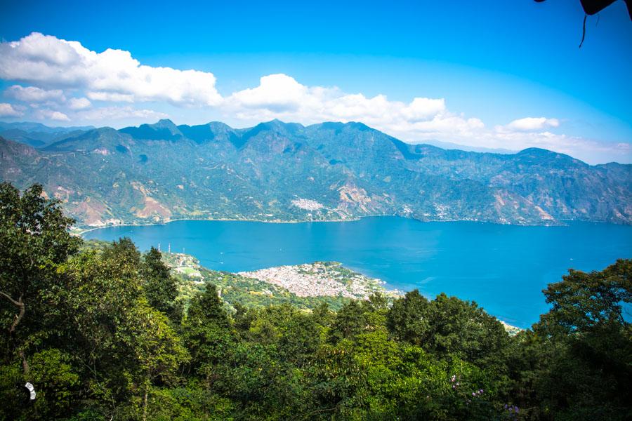Hiking Volcán San Pedro on Lake Atitlan Guatemala backpacking itinerary