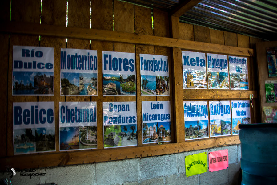 Tours you can do from San Pedro Guatemala backpacking itinerary