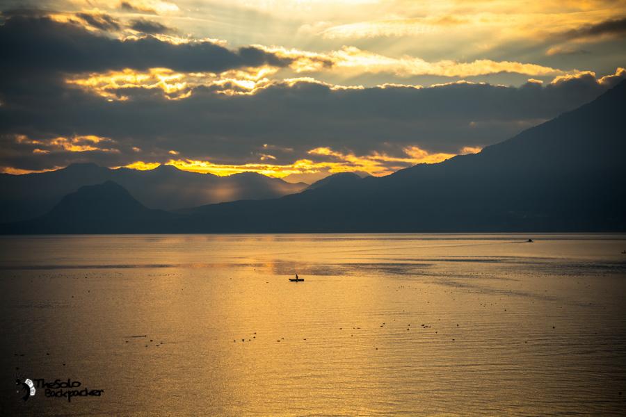 San Pedro on Lake Atitlan Guatemala backpacking itinerary