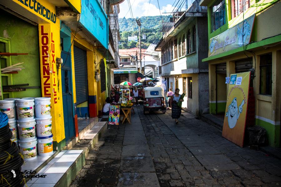 Snap from San Pedro on Lake Atitlan Guatemala backpacking itinerary