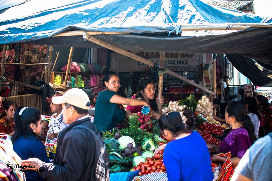 Snaps from Chichicastenango Market Guatemala backpacking itinerary