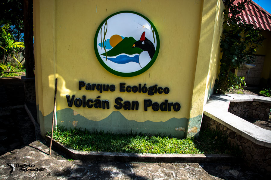 On the way to Volcán San Pedro on Lake Atitlan Guatemala backpacking itinerary