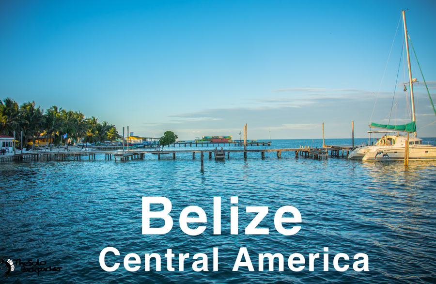 Belize backpacking itinerary