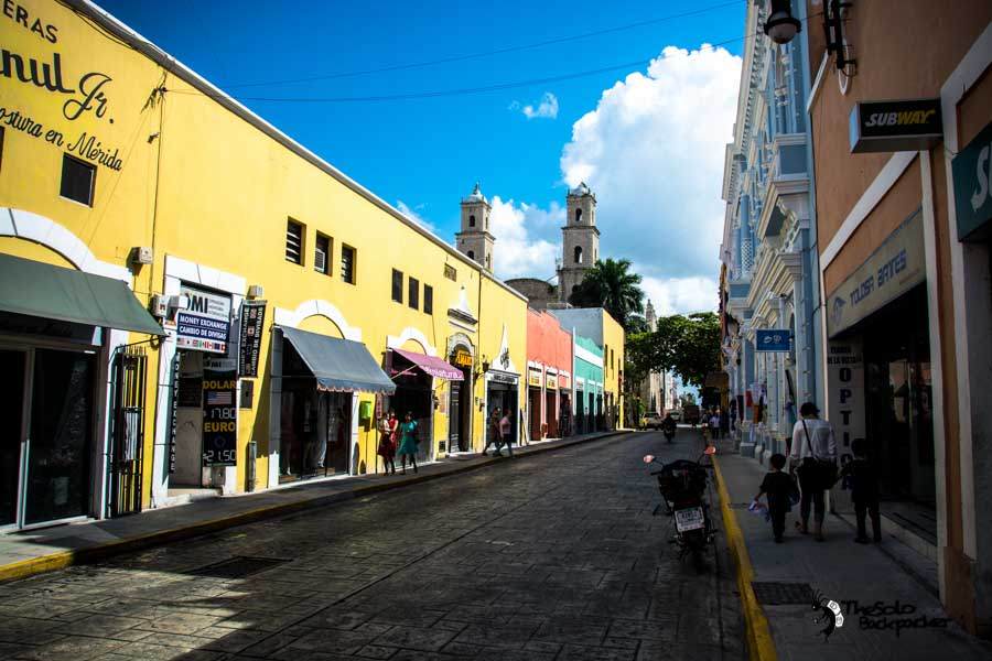 Merida Mexico backpacking itinerary