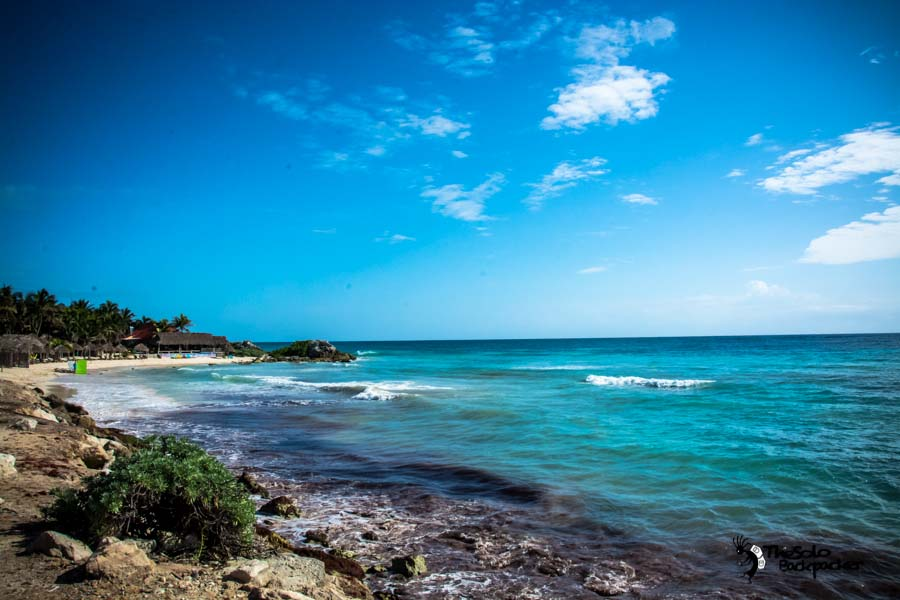 Tulum,Mexico backpacking itinerary
