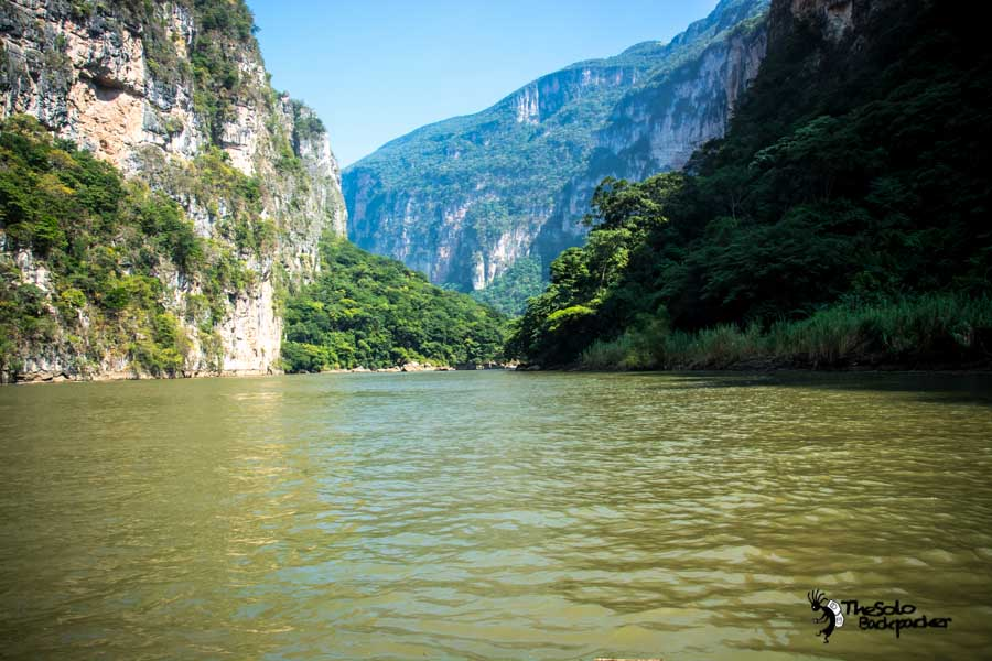 Cañón del Sumidero Mexico backpacking itinerary