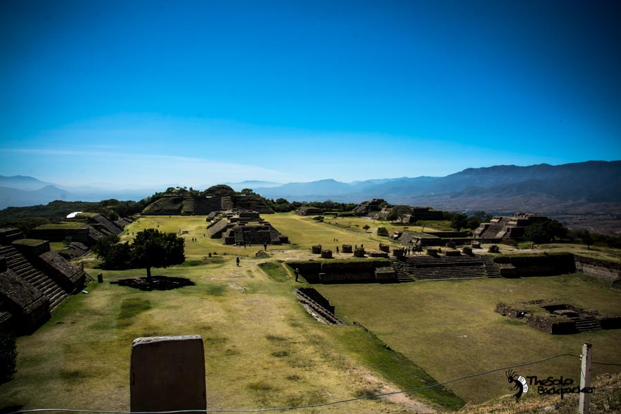 Monte Alban. Mexico backpacking itinerary