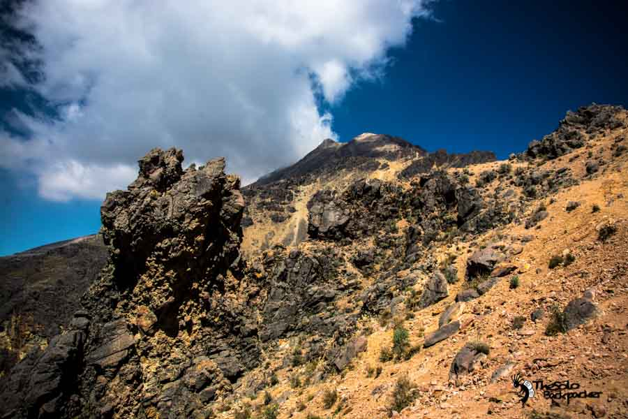 top of Iztaccíhuatl Mexico backpacking Itinerary