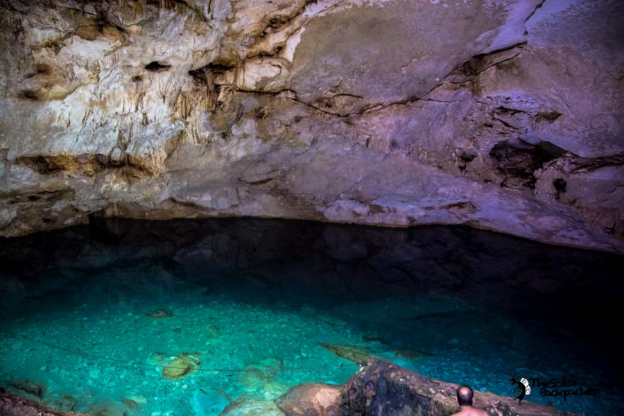 Homun Bal-Mil Cenote, Mexico backpacking itinerary