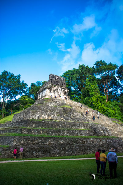 Palenque ruins Mexico Backpacking Itinerary