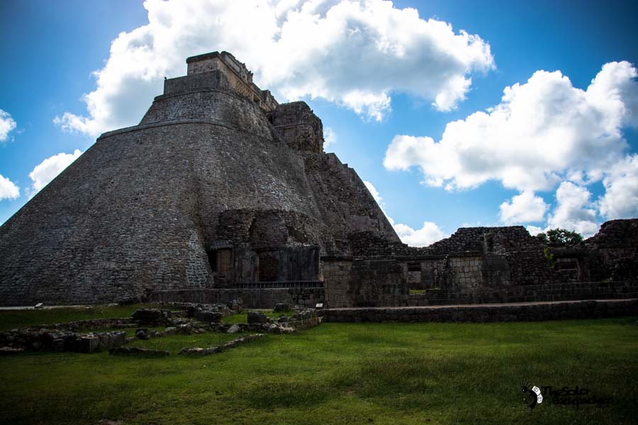 Uxmal ruins, Mexico backpacking itinerary