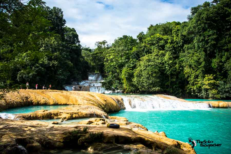 Cascadas de Agua Azul Mexico Backpacking Itinerary