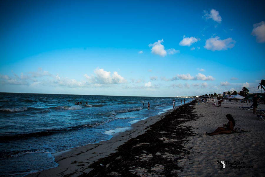 Progreso Mexico backpacking itinerary