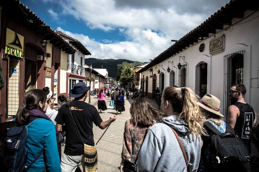 San Cristóbal free walking tour Mexico backpacking itinerary