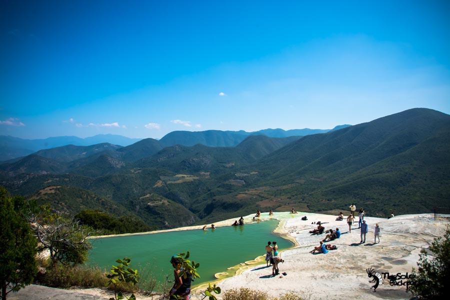 Hierve el Agua, Oaxaca Mexico. Mexico backpacking itinerary