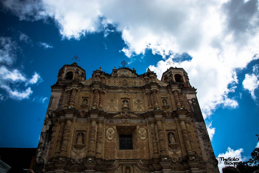 Church of Santo Domingo (San Cristóbal de las Casas) Mexico backpacking itinerary