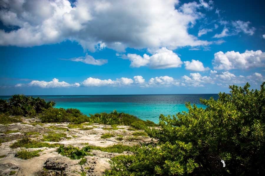 Tulum ruins,Mexico backpacking itinerary