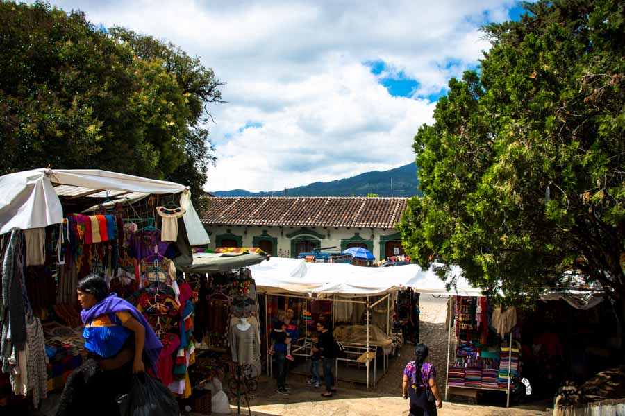 Sna Jolobil Market Mexico backpacking itinerary