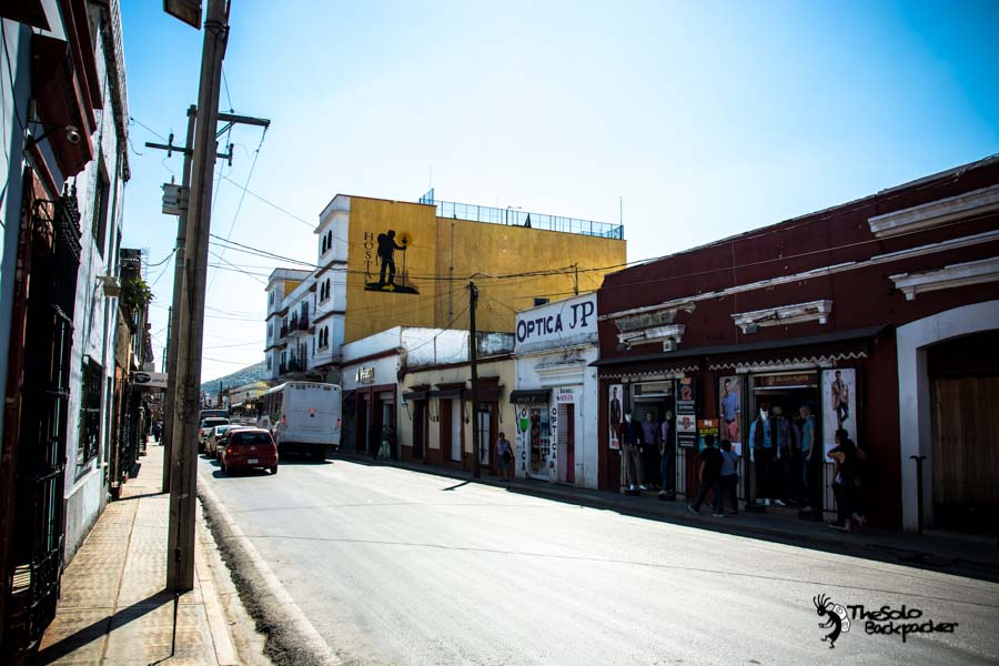 My firest day at Oaxaca,My hostal Andaina Hostel Mexico backpacking itinerary