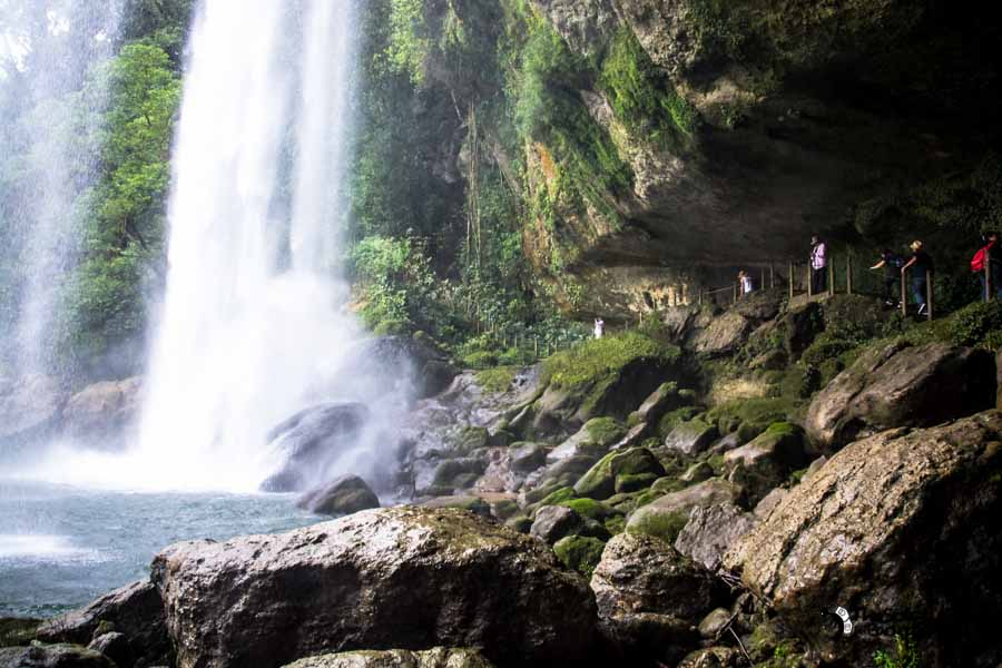 Cascada de Misol-Ha Mexico Backpacking Itinerary